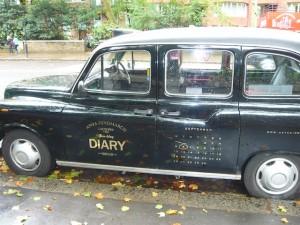 Anya Hindmarch taxi