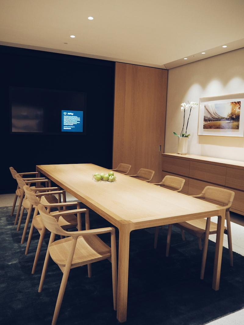 Apple Regent Street board room
