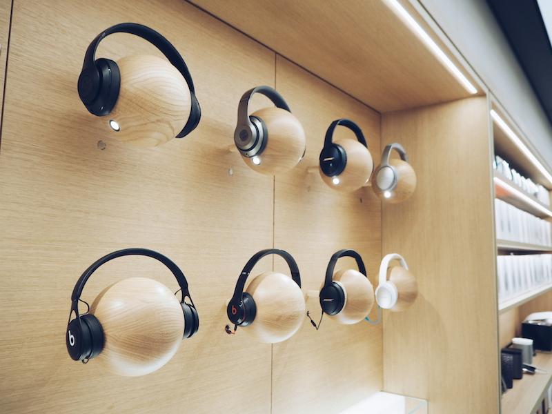 Apple Regent Street audio focus