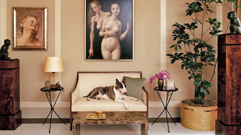 Architectural Digest Amy Astley marc jacobs new york townhouse