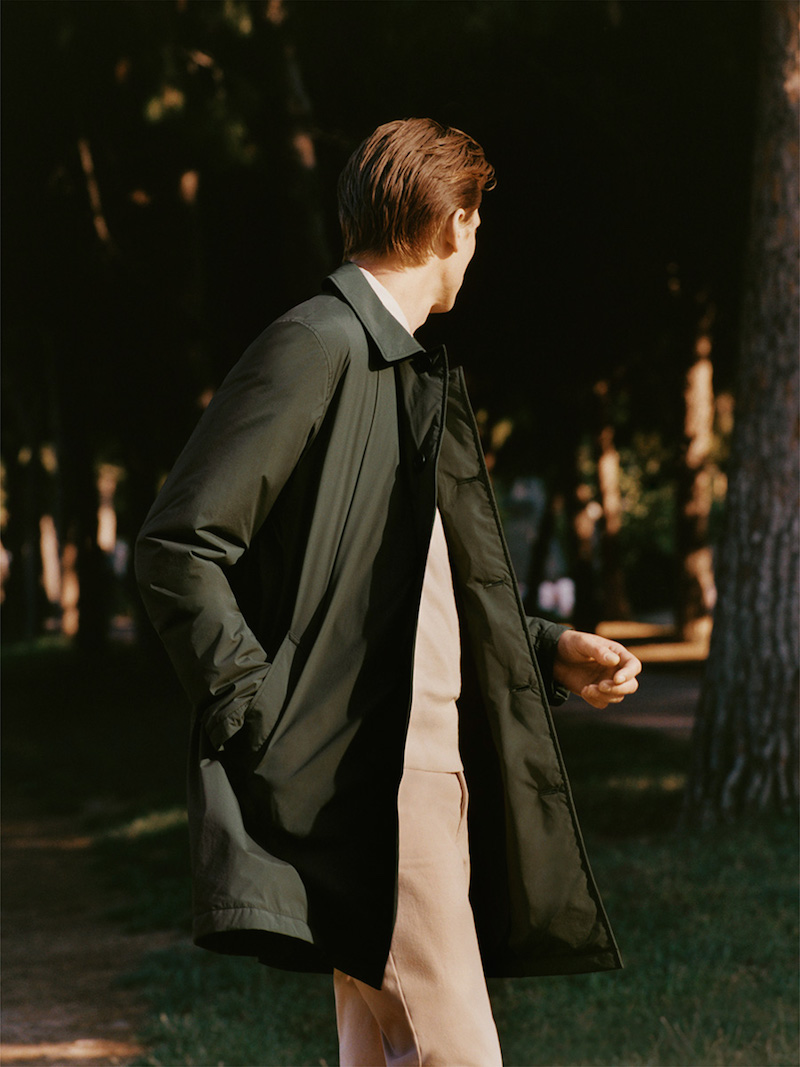 Arket menswear outerwear and tailoring