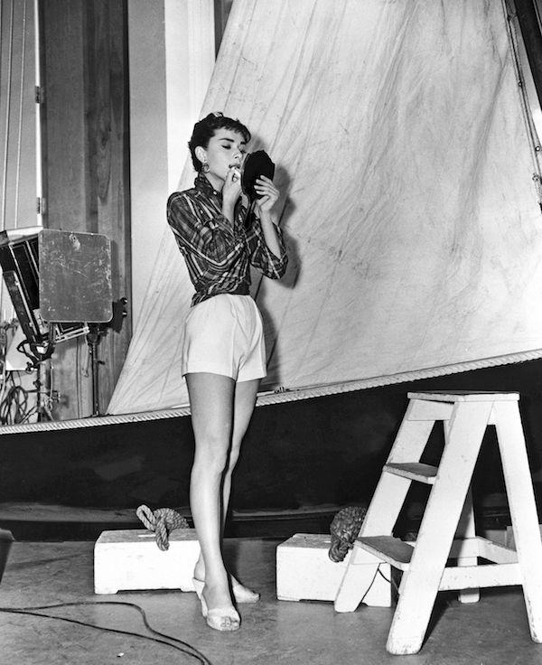 Audrey Hepburn Cartier lipstick