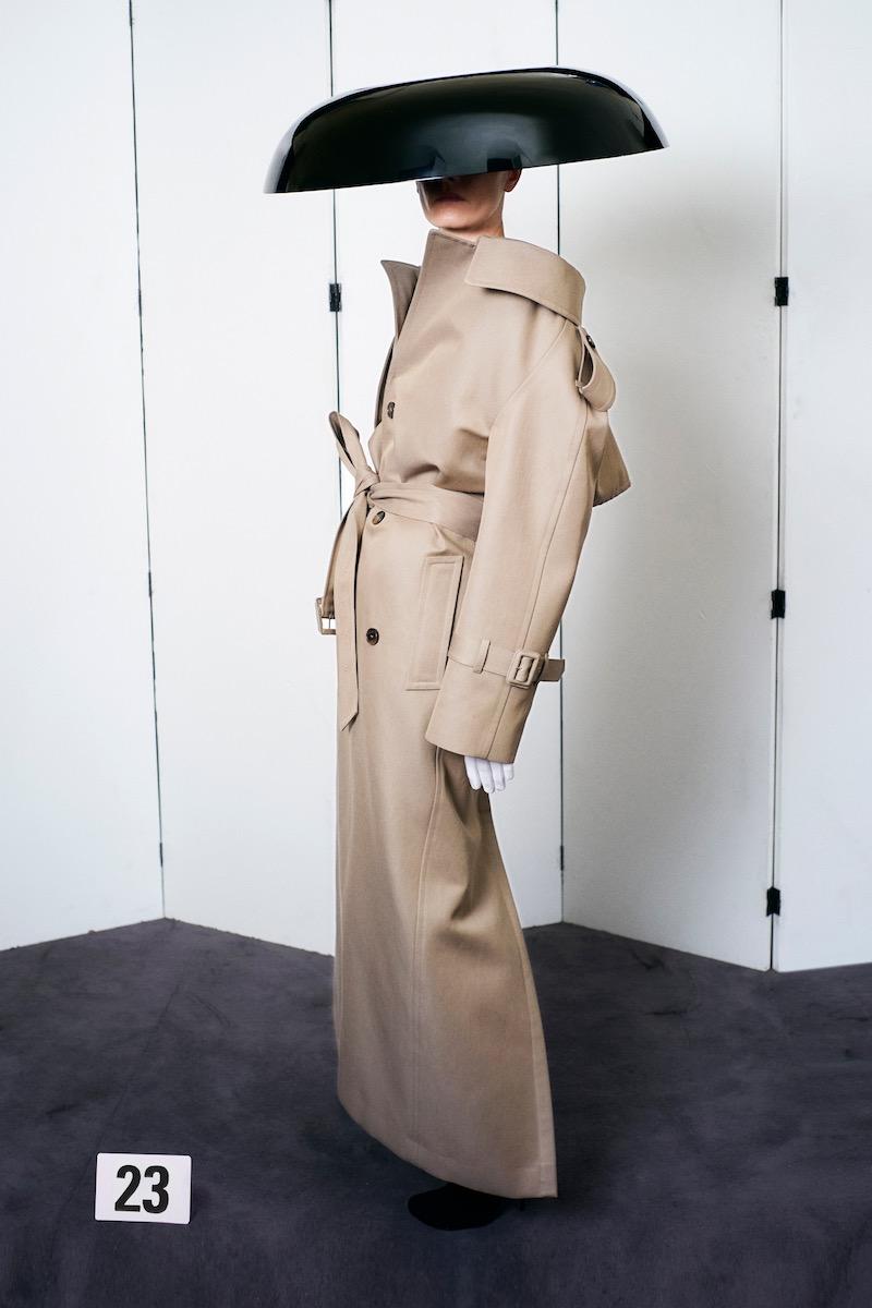 Balenciaga Couture trench AW21