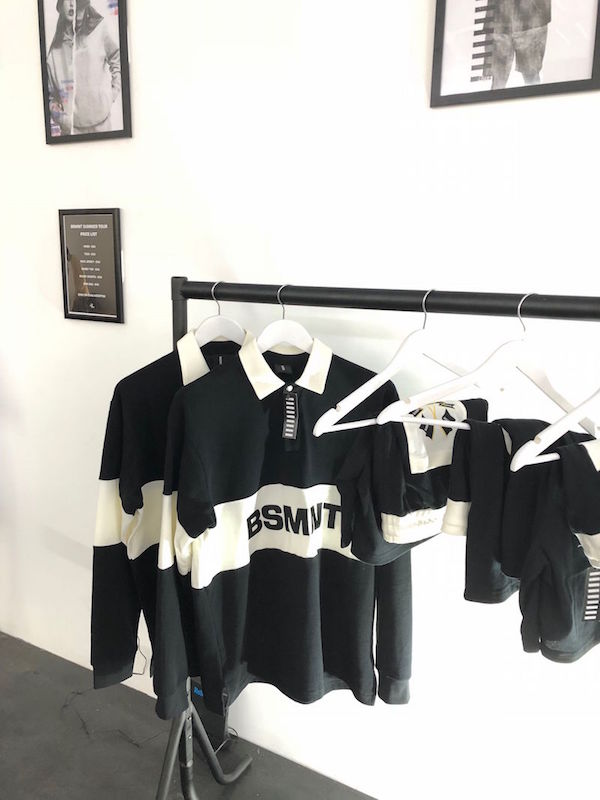 Basement Approved merch in the London Brewer Street pop-up
