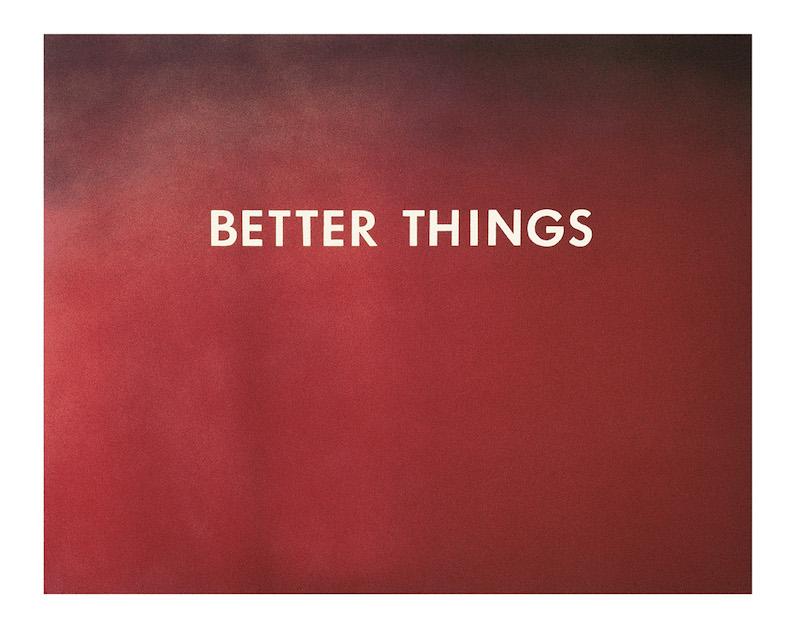 Better Things, 1973, Ed Ruscha