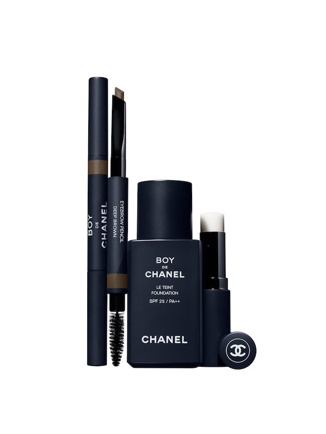 Boy de Chanel make up for men