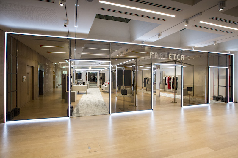Browns Farfetch Store of the future