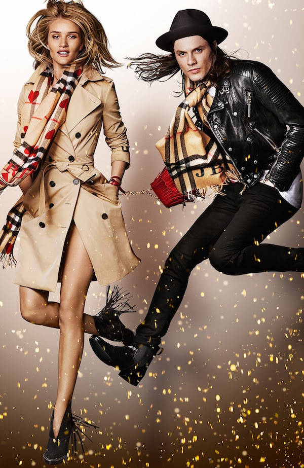 Burberry Christmas ad campaign