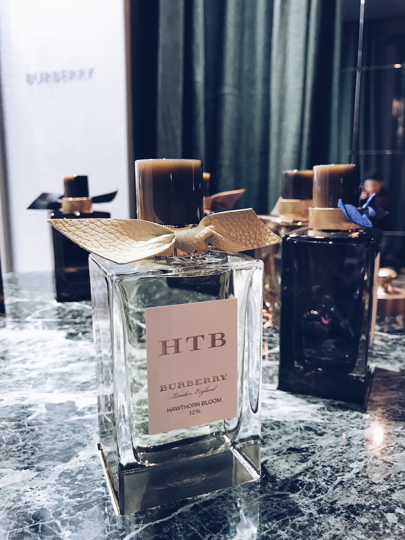 Burberry Harrods Salon de Parfums 6th floor