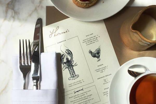 Burberry cafe Regent Street