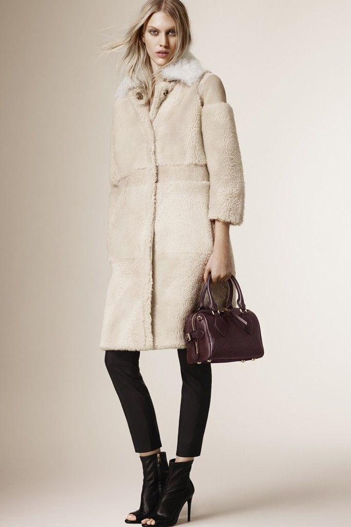 Burberry Prorsum pre-fall 2015 coats 1