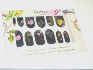 Butter London nail stickers