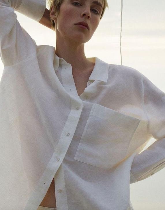 COS linen shirt