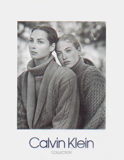 Calvin Klein  1989 Bruce Weber