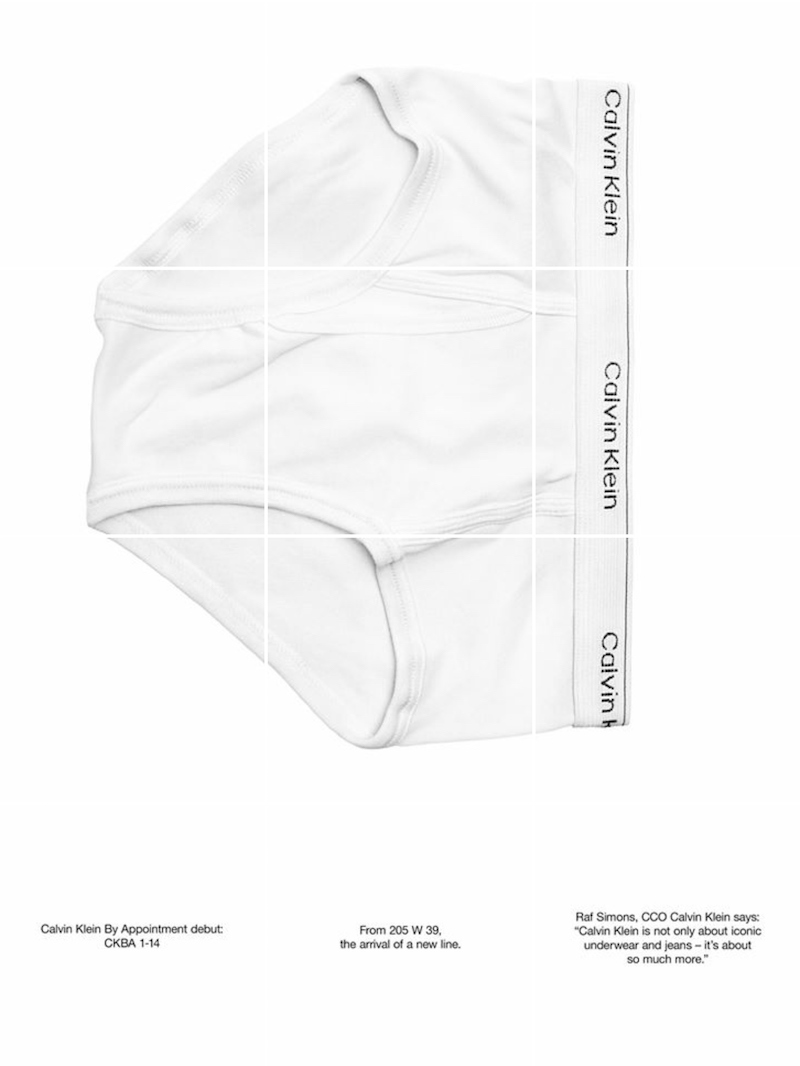 Calvin Klein By Raf Simons