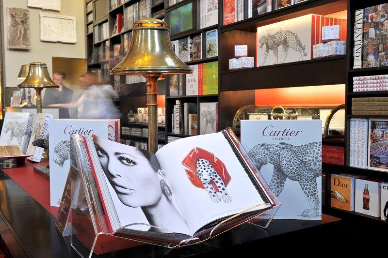 Cartier Panthere book at Maison Assouline