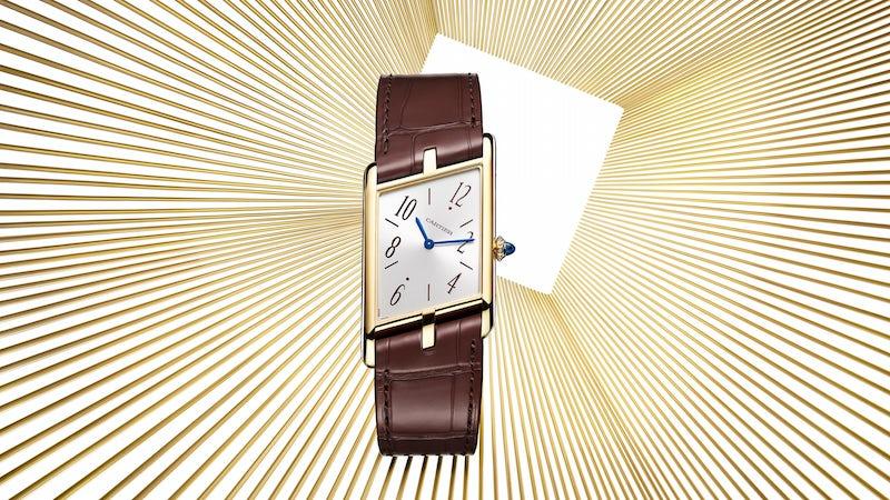 Cartier Privé Tank Asymétrique watch