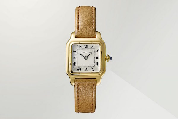 Cartier Santos watch at The Design Museum