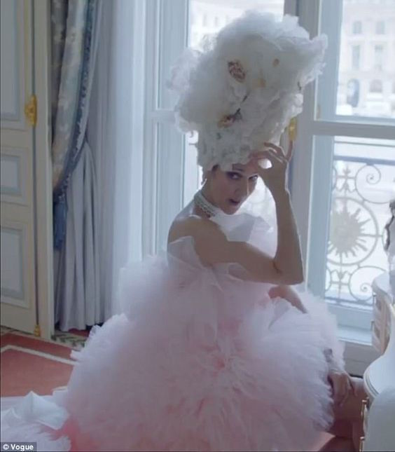 Celine Dion Vogue couture video