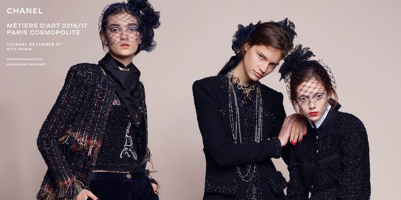 Chanel COSMOPOLITE Metiers d'art collection 2016-2017