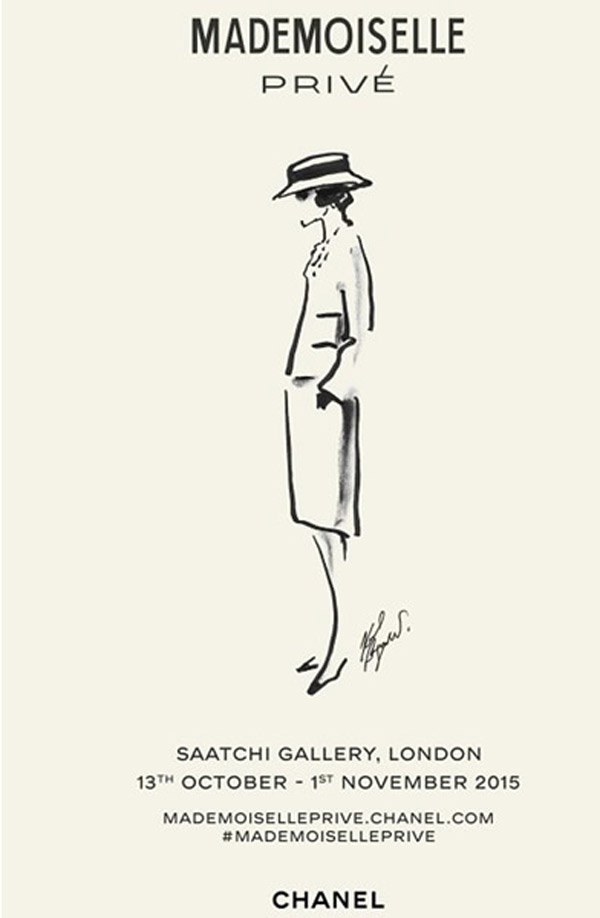 Chanel MADEMOISELLE PRIVE exhibition coming to the Saatchi Gallery in London