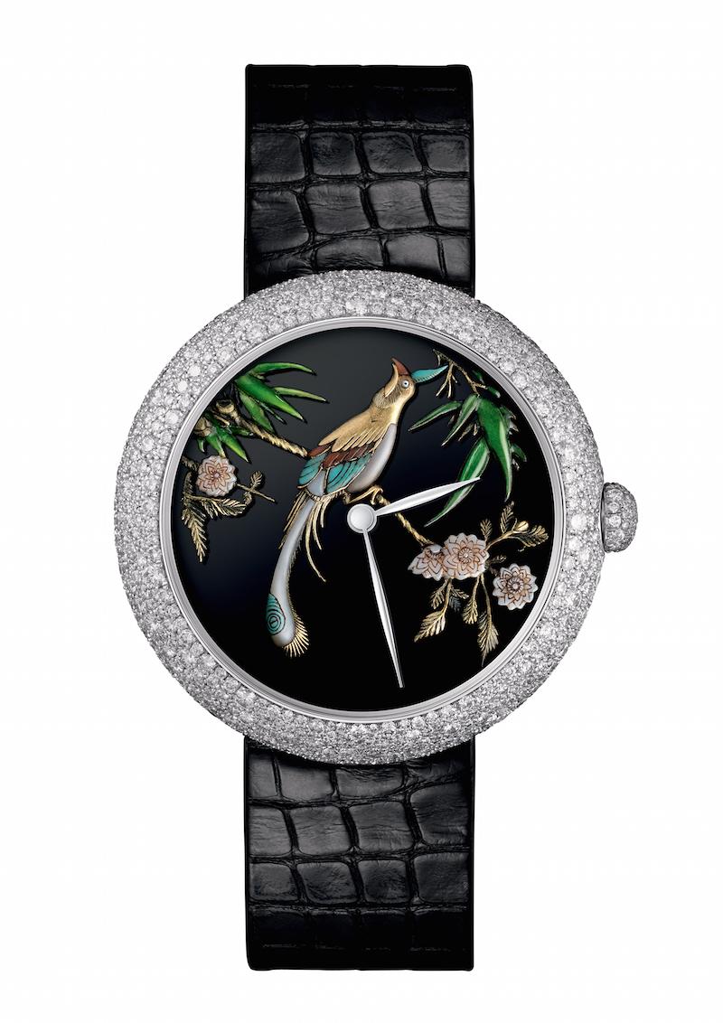 Chanel Mademoiselle Prive Coromandel Glyptic watch