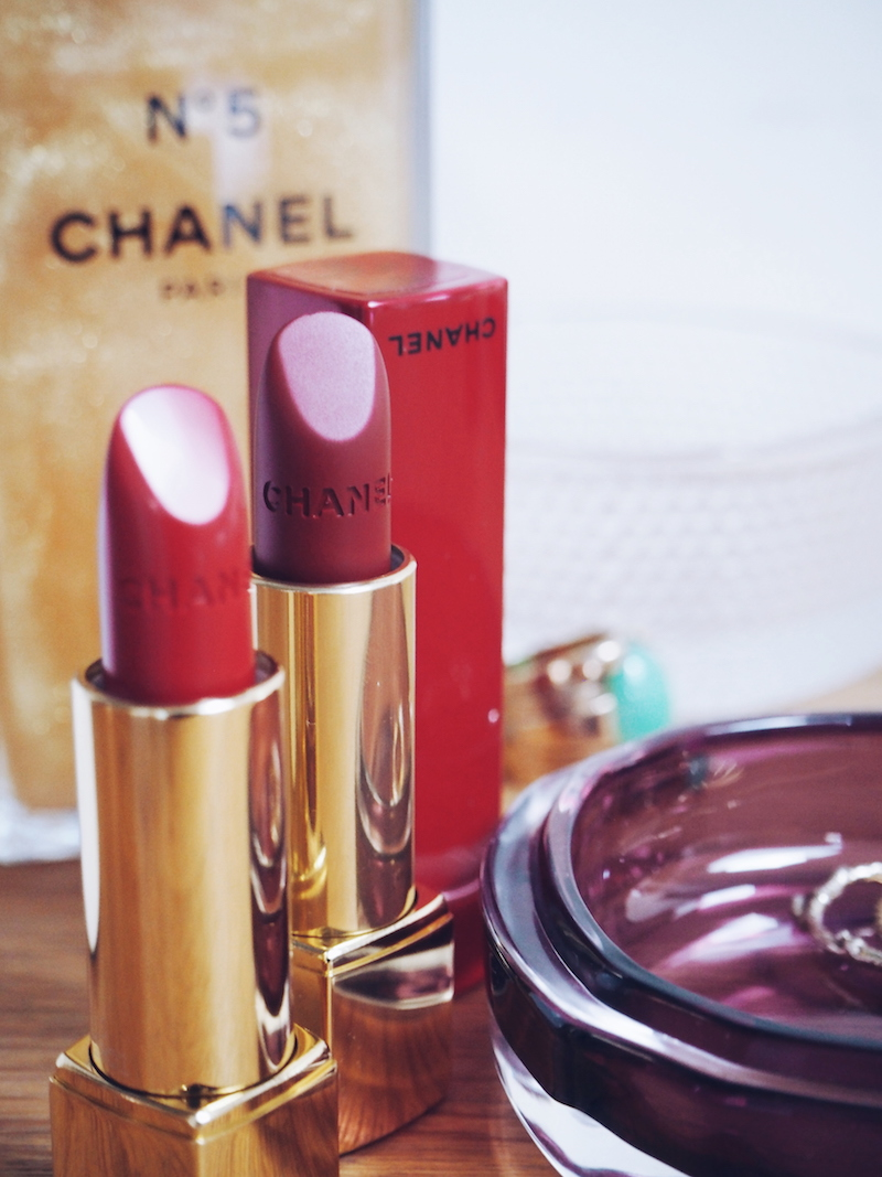 Chanel Numeros Rouge in no 1 and no 2