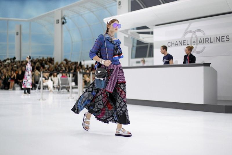 Chanel SS16 Vogue Runway