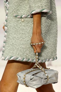 Chanel package bag s12 with chain