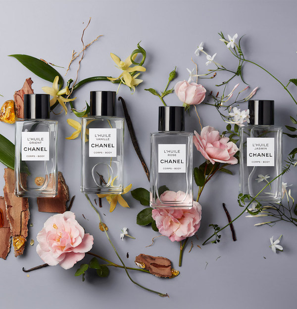 Chanel rose massage oil