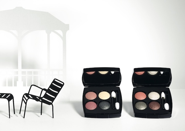 Chanel spring 2015 makeup colours. Eye quads les -4 ombres-photo by Paul LEPREUX