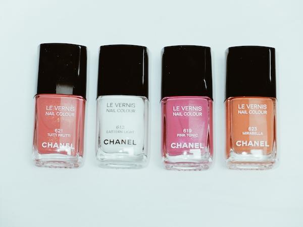 Chanel-white-opaque-nail polish-eastern-light