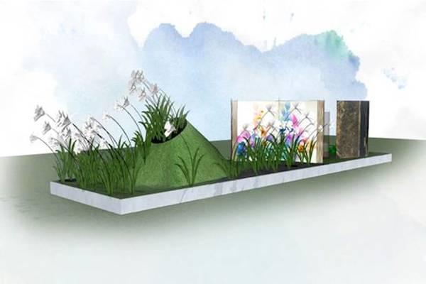 Chelsea Flower Show Harrods Fragrance garden