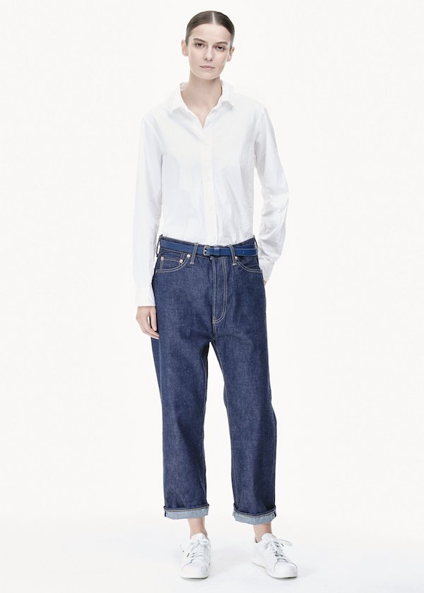 Chimala Wide Tapered Cut Jeans
