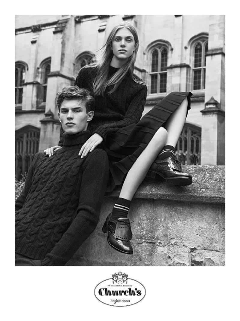 Church's aw16 campaign by Lachlan Bailey