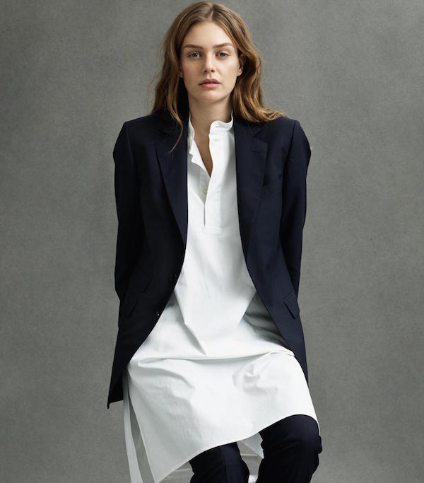 Connolly England blazer and shirt dress