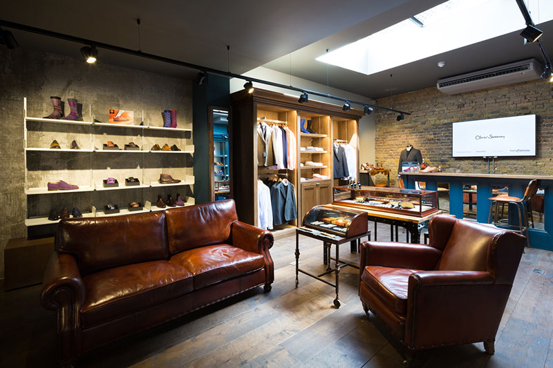 Oliver Sweeney Henrietta Street Covent Garden menswear destination