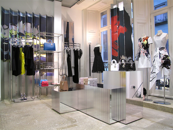 Dior opens at Dover Street Market in London