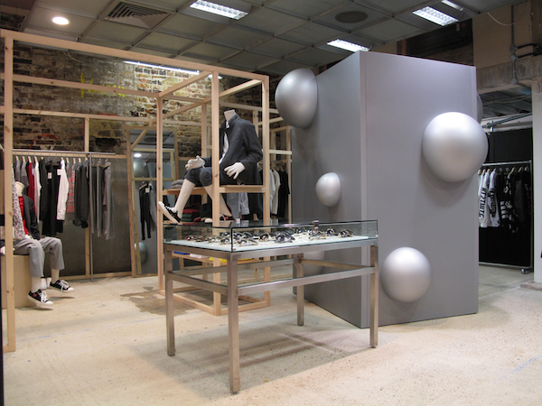 DSM-10th Anniversary-Basement-Fitting Room Titled 'Untitled' by RK