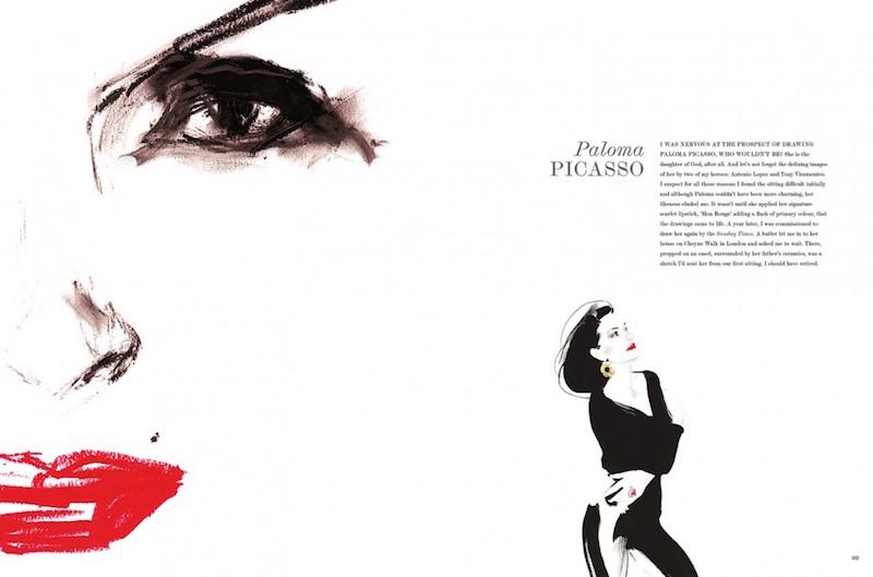 David Downton Portraits Of The worlds most Stylish women