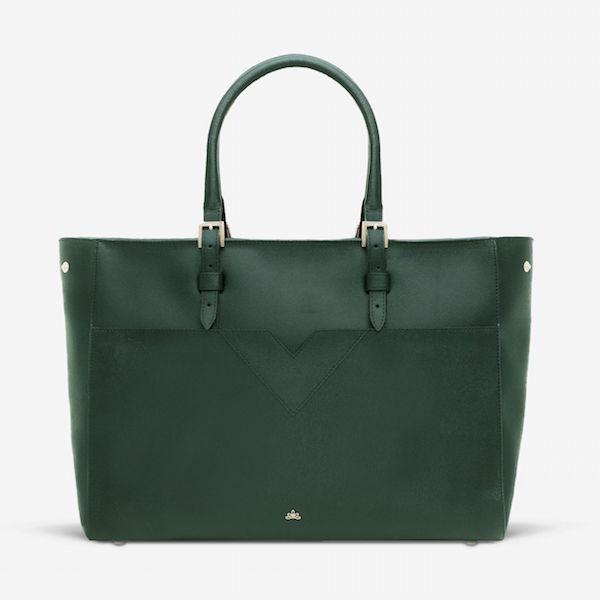 DeMellier Phoenix bag in forest green