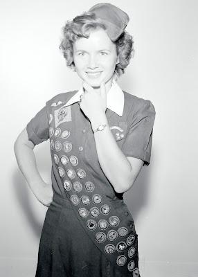 Debbie Reynolds girl scout style