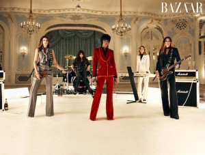 Dec Supermodels Harpers Bazaar Duran Duran