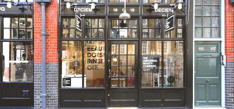 Deciem London store