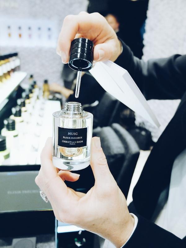 Dior's Musc Elixir Precieux Harrods Salon de Parfums