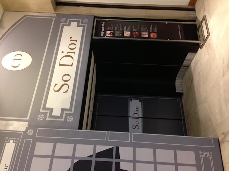 Dior-Harrods-Lift