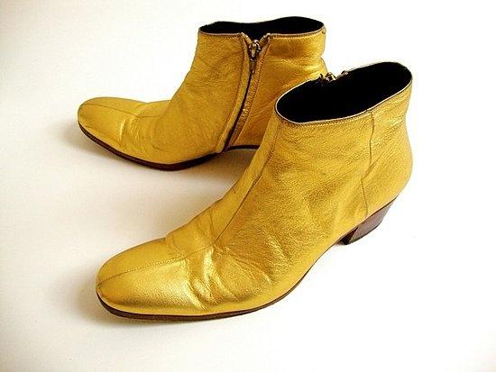 Dior-Hommes-gold-boots-Hedi-Slimane 2
