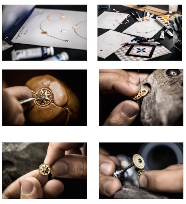 Dior jewellery Rose Des Vents  fine jewellery collection