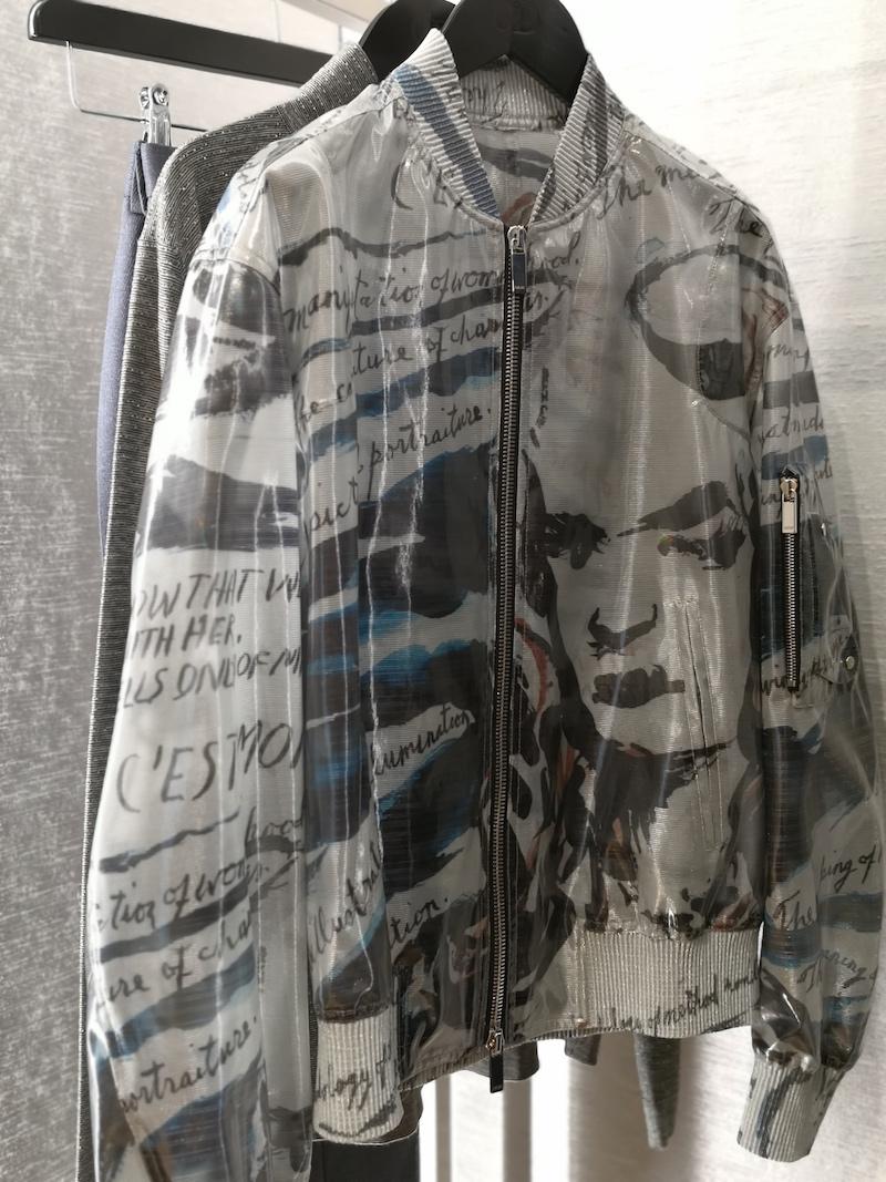 Dior menswear aw19 Raymond Pettibon jacket