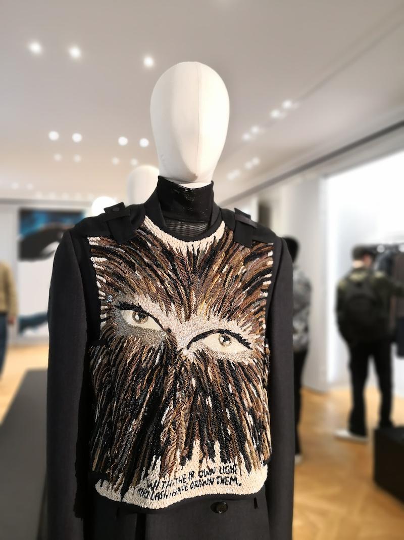 Dior menswear aw19 Raymond Pettibon tabard